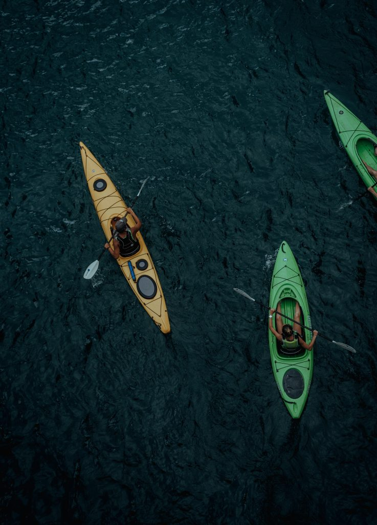 Kayaking in Mount Batur, a perfect way to spend valentine day