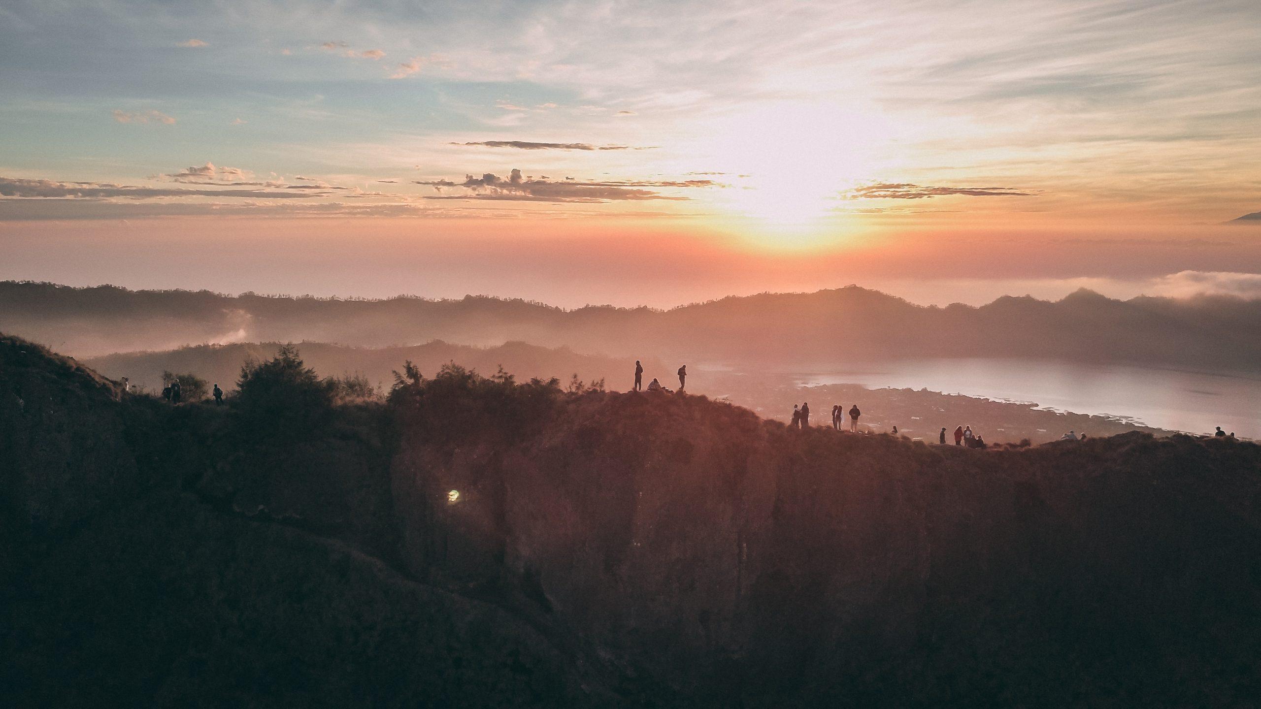 Romantic Hiking in Mount Batur, Bali